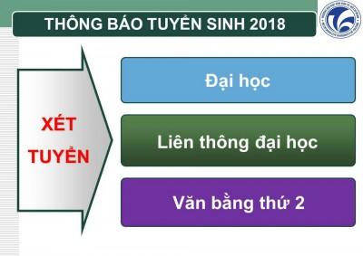 Tuyển sinh đại học vừa làm vừa học tại TP.Hồ Chí Minh
